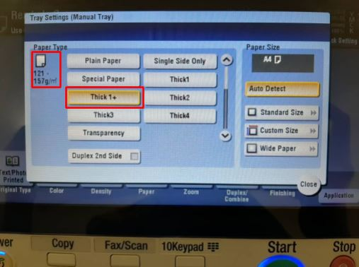 cetak kertas sticker mirrorkote - khalifah copier