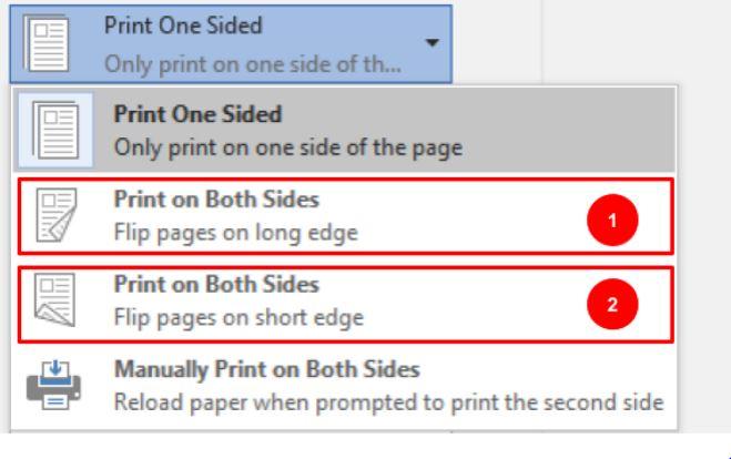 duplex print